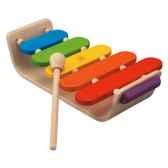 xylophone ovale en bois plan toys 6405