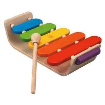 Xylophone ovale en bois - Plan Toys 6405