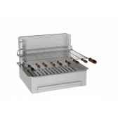 barbecue 500 inox standard collet industries 920501