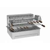 barbecue 600 inox integracollet industries 920611