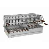 barbecue 800 inox integracollet industries 920811