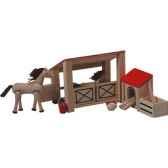 ecurie en bois plan toys 7149
