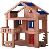 maison terrasse en bois plan toys 7150