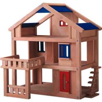 Maison terrasse en bois - Plan Toys 7150