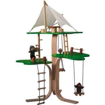 Maison dans les arbres en bois - Plan Toys 7152