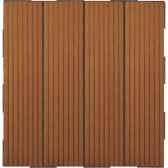 4 dalles clipsables composite brun fabulous garden sm101856
