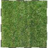 4 dalles clipsables gazon vert grand confort sud fabulous garden sm101791