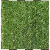 4 dalles clipsables gazon vert grand confort sud fabulous garden sm101791