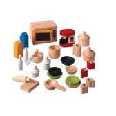 accessoire cuisine en bois plan toys 9406
