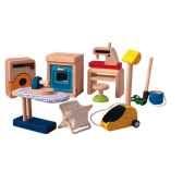 accessoires menagers en bois plan toys 9710