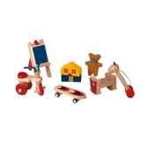 accessoires de chambre enfants en bois plan toys 9711