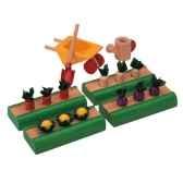 le jardin potager en bois plan toys 9844