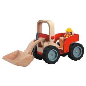 Bulldozer en bois - Plan Toys 6307