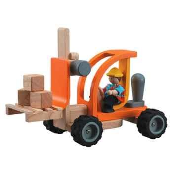 Chariot élévateur en bois - Plan Toys 6308