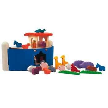 L\'arche de noë en bois - Plan Toys 6116