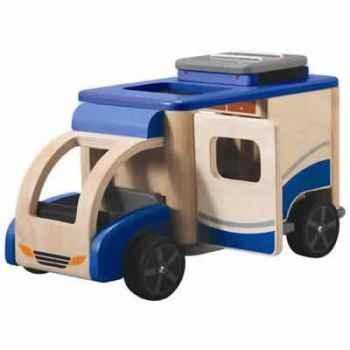 Le camping car en bois - Plan Toys 6117