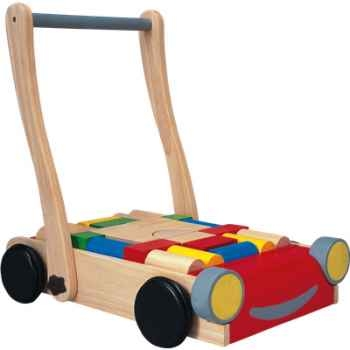 Chariot de marche en bois - Plan Toys 5123
