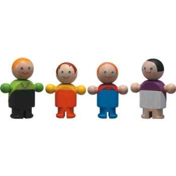 Famille poupée classique en bois - Plan Toys 6038