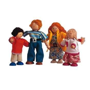 Famille de poupées en bois - Plan Toys 7142