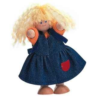 Poupée fille en bois - Plan Toys 7406