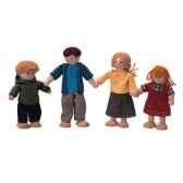famille de poupees en bois plan toys 7415