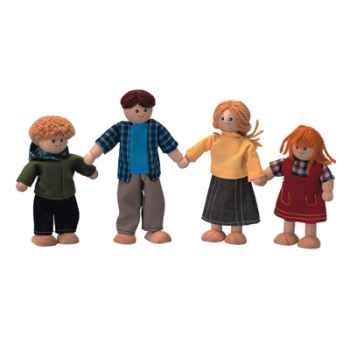 Famille de poupées en bois - Plan Toys 7415