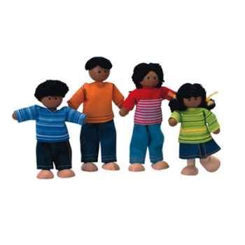 Famille ethnique en bois - Plan Toys 7416