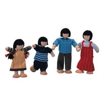 Famille asiatique en bois - Plan Toys 7417