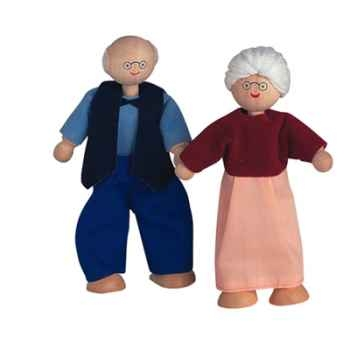 Poupée grand père en bois - Plan Toys 9850