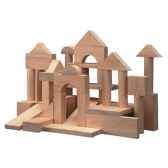 50 blocs bois nature35mm plan toys 9739