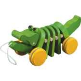 alligator en bois plan toys 5105