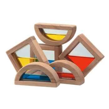 Blocs à eau 35mm en bois - Plan Toys 5523