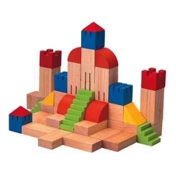 Blocs créatifs 35mm en bois - Plan Toys 5527