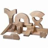 cube en bois naturesup en bois plan toys 5529