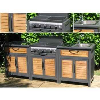 Cuisine exterieur rivoli composee de 3 modules Somagic -92685300F