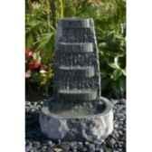 fontaine nemesis en pierre granit de coloris gris climadream