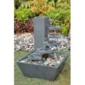 fontaine eurydice en pierre granit de coloris gris climadream