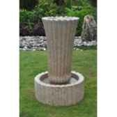 fontaine pan en pierre granit de coloris beige climadream
