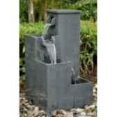 fontaine hermes en pierre granit finition polie de coloris gris climadream
