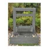 fontaine demeter en pierre granit de coloris gris climadream