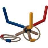 jeu des anneaux en bois plan toys 4115