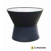 foyer en acier et barbecue phantom coloris noir la hacienda 58109