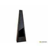 cheminee design en acier triga coloris noir la hacienda 56072