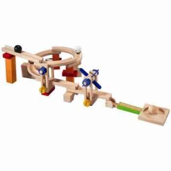 Parcours à billes 40 pcs en bois - Plan Toys 5532