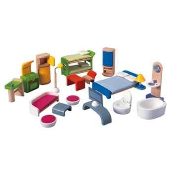 Assortiment de meubles en bois - Plan Toys 7140