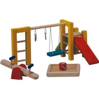 Aire de jeux en bois - Plan Toys 7153