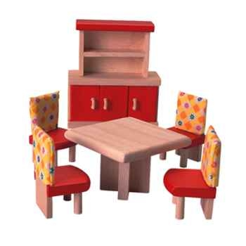 Salle à manger en bois - Plan Toys 7306