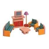 salon en bois plan toys 7307
