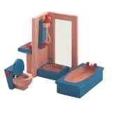 salle de bains en bois plan toys 7308
