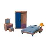 chambre a coucher en bois plan toys 7309